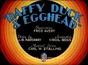 Daffy Duck And Egghead Cartoon Picture