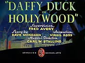 Daffy Duck In Hollywood Cartoon Picture