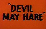 Devil May Hare Cartoon Picture