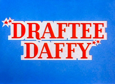 Draftee Daffy Picture To Cartoon