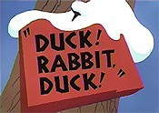 Duck! Rabbit, Duck! Free Cartoon Picture