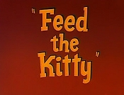 Feed The Kitty Cartoon Picture