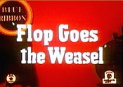 Flop Goes The Weasel Cartoon Picture