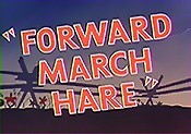 Forward March Hare Free Cartoon Picture