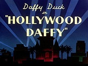 Hollywood Daffy Cartoon Picture