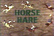 Horse Hare Cartoon Picture