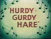 Hurdy-Gurdy Hare Cartoon Picture