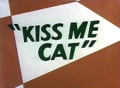 Kiss Me Cat Cartoon Picture