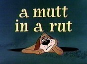 A Mutt In A Rut Cartoon Picture