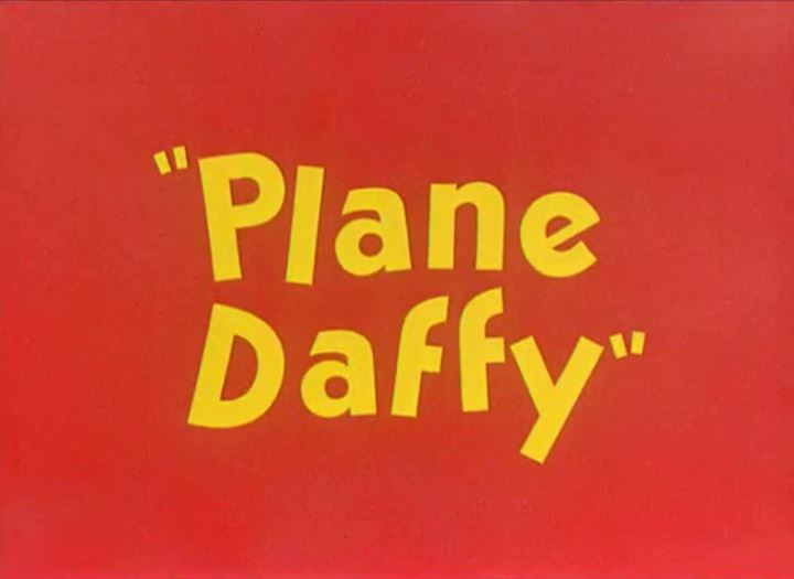 Plane Daffy Cartoon Picture
