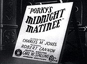 Porky's Midnight Matinee Cartoon Picture