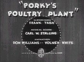 Porky's Poultry Plant Cartoon Picture