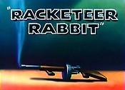 Racketeer Rabbit Cartoon Picture