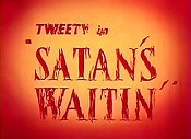 Satan's Waitin' Cartoon Picture