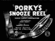 Porky's Snooze Reel Cartoon Picture