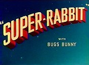 Super-Rabbit Cartoon Picture
