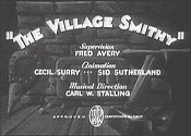 The Village Smithy Cartoon Picture