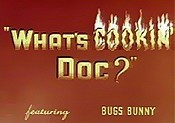 What's Cookin' Doc? Cartoon Picture