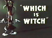 Which Is Witch Cartoon Picture