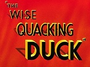 The Wise Quacking Duck Cartoon Picture