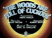 The Woods Are Full Of Cuckoos Cartoon Picture