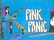 Pink Panic Cartoon Picture