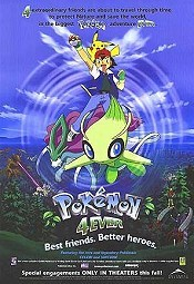 Pokémon The 4th Movie Picture Into Cartoon