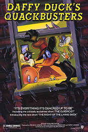 Daffy Duck's Quackbusters Free Cartoon Picture