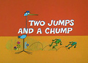 Two Jumps And A Chump Cartoon Picture